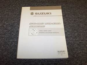 1999 2000 2001 Suzuki Grand Vitara Suv Electrical Wiring