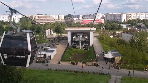 iga berlin seilbahn iga berlin 2017 fahrt mit der seilbahn aussichtsplattform