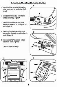 Escalade Headlight Wiring Harnes