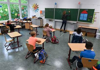 Reopening Schools Students Prepare Washington Classroom Physical