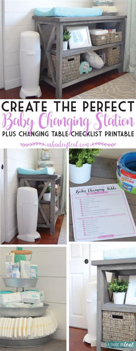 Ideen Organisation Kinderzimmer by Create The Baby Changing Station Plus A Checklist