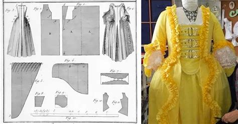 historical costume patterns