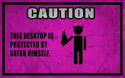 Horns Caution Funny Wallpapers Religions Faggotry Updated