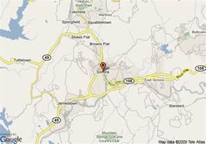 Sonora California Google Map