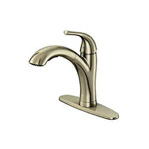 water ridge pull out kitchen faucet top mount for easy