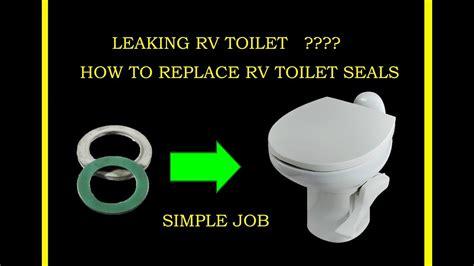 Thetford Rv Toilet How To Fix Leaking Rv Toilet Gasket