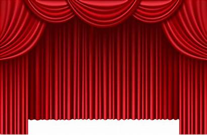 Curtains Theater Clip Clipart Curtain Stage Transparent