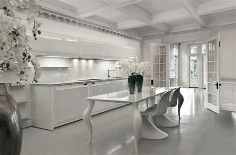 modele de cuisine blanche modèle cuisine blanche en 50 idées inspirantes