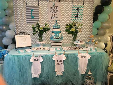 Decorating Ideas For Baby Shower Boy by Uptown Giraffe Themed Baby Shower Decorations Hartman