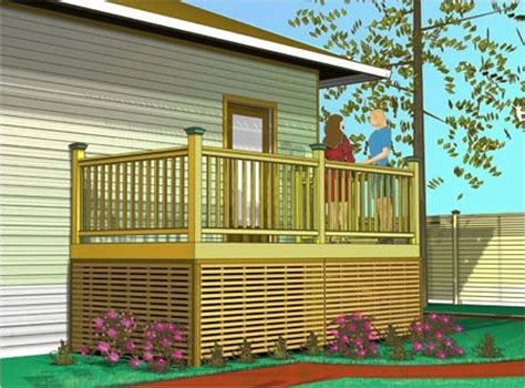 Alternatives To Lattice For Deck Skirting by Lattice Deck Alternatives Deck Panel