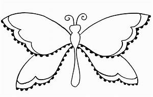 Pin Butterfly Outline For Colouring In on Pinterest