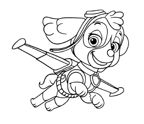 Funny Paw Patrol Coloring Pages for Children 101 Coloring
