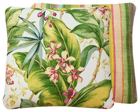 bahama tropical hawaiian outdoor pillow