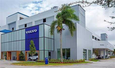 auto dealership renovation  davie fl weston volvo nissan