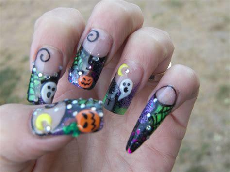 Halloween Nail Designs Pinterest Ivoiregion