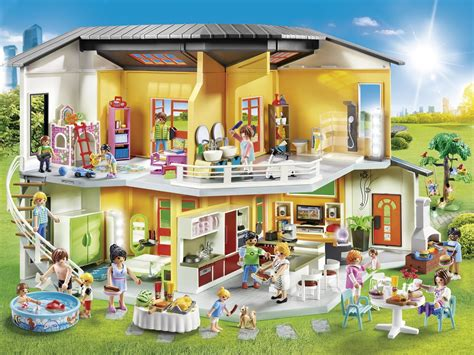 Moderne Haus Playmobil by Playmobil Spielwelt Wohnhaus Kinderspielmagazin