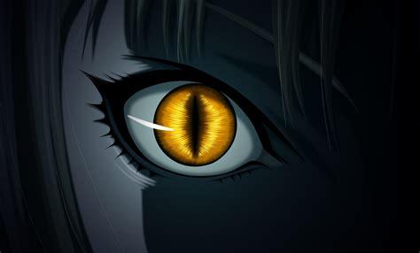 anime claymore evil dark ninja monster snake eyes yellow