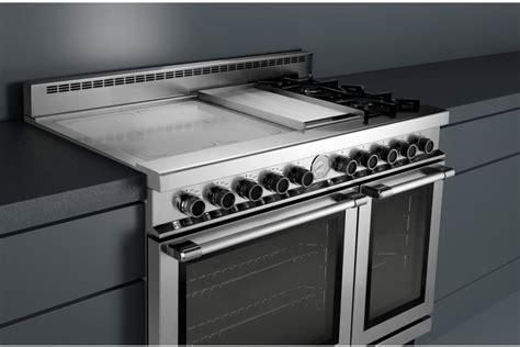 superiore rngpss   freestanding dual fuel range   induction zones  sealed gas