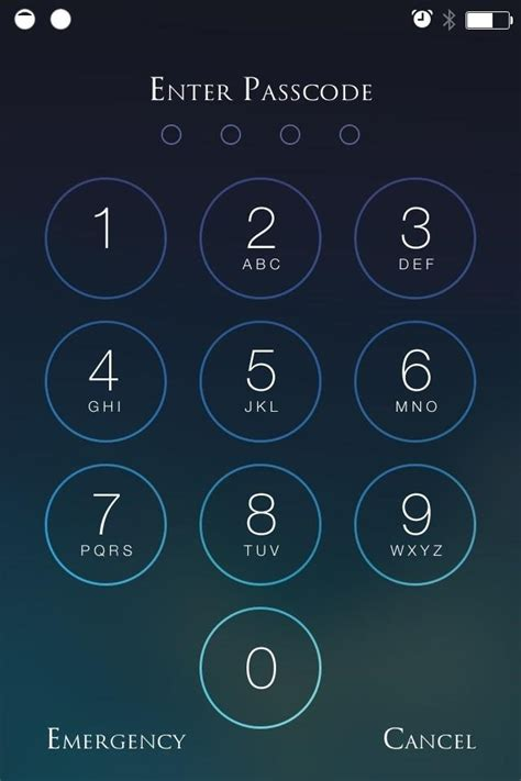iphone numbers beef up your iphone s passcode security with a blank