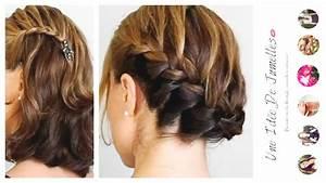 Tresse Cheveux Courts : 2 coiffures cheveux courts mi longs sp cial tresse youtube ~ Melissatoandfro.com Idées de Décoration