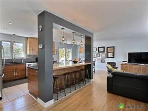 beautiful cuisine ouverte sur salon petite surface 2 With attractive couleur de peinture de salon 2 salle 224 manger couleur chene gris