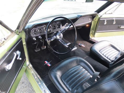 1966 Ford Mustang Coupe 6 Cyl. 200 Cid 3 Spd. Manual Trans