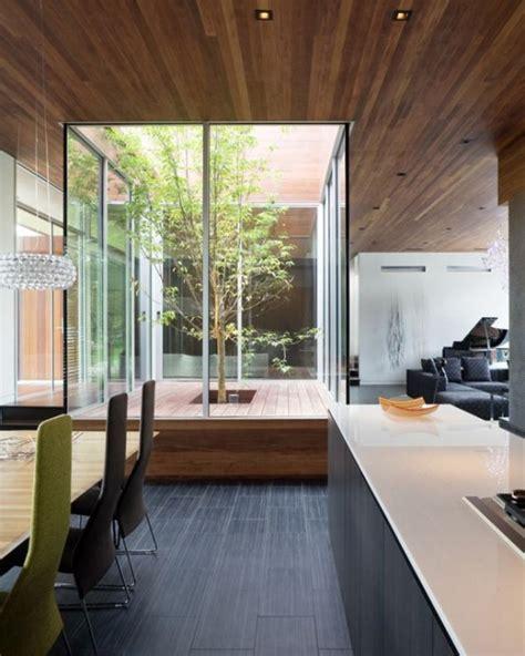 kitchen courtyard designs drzewo w domu niesamowite przykłady związku człowieka z 1029
