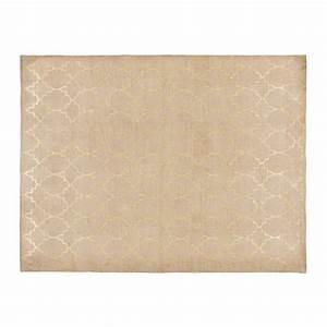 Tapis D Extérieur Maison Du Monde : tapis en coton motifs dor s 150x230cm nestor maisons du ~ Dailycaller-alerts.com Idées de Décoration
