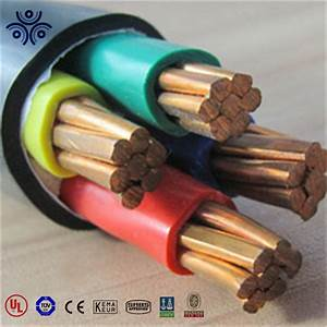 China Armored Cable Type 4 35mm2 Copper Conductor Xlpe  Pvc
