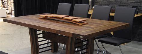 table bois cuisine table comptoir bloc de boucher et ilôt en bois massif