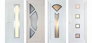 porte d39entree maison phenix evolution With porte d entrée pvc avec plaque de porte salle de bain