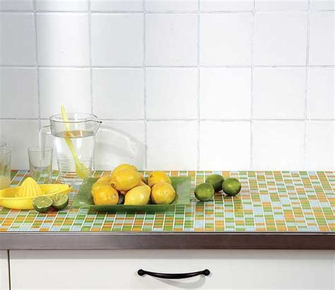 tiled benchtop kitchen popular today retro style mosaics and mosaic furniture 2780