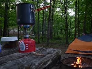 oak mountain state park backpacking