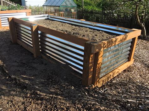 how to galvanized garden beds blueberry hill crafting