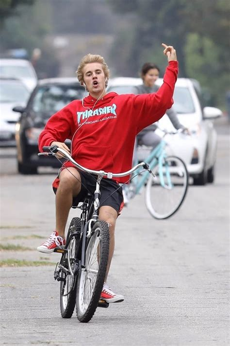 justin bieber  selena gomez   romantic bike ride