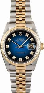 Rolex Datejust 16233 Blue Diamond Vignette