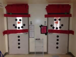 awesome classroom door decorations winter wonderland