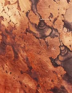 Kupfer Grüne Patina : wandpaneele metall kupfer oxidiert schwarze patina kupfer tupfer material id ~ Markanthonyermac.com Haus und Dekorationen
