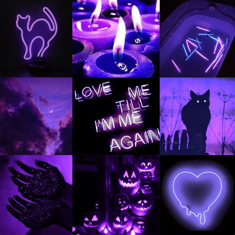 purple aesthetic spooky nighttime freeto