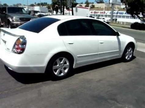 nissan altima  owner pearl white  cars