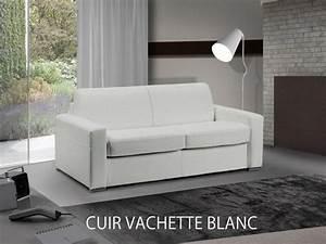 Canapé Cuir Blanc 2 Places : canap fixe master 2 3 places cuir blanc comparer les prix de canap fixe master 2 3 places cuir ~ Teatrodelosmanantiales.com Idées de Décoration