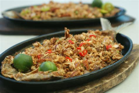 phil cuisine recipes bangus sisig sizzling bangus sisig