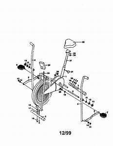Lifestyler Bicycle Exerciser Parts