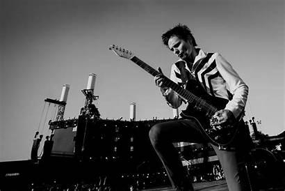 Muse Bellamy Matthew Concert Drummer Guitar Musician