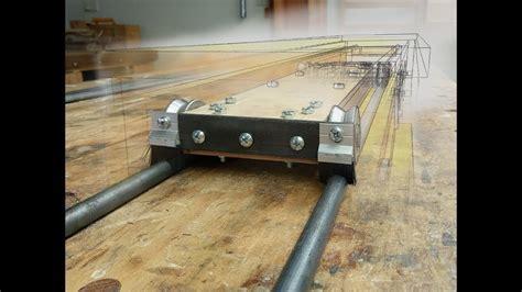 Sliding table attachment Part 1   building the sliding