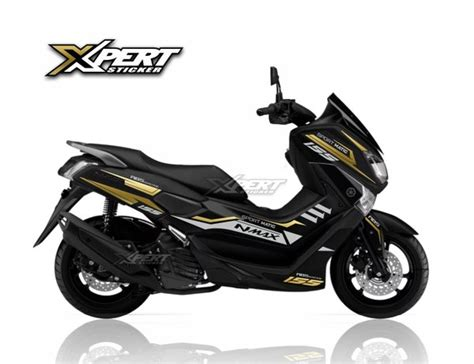Nmax 2018 Hitam Abs by Jual Sticker Cutting Nmax Hitam 2018 Nmax Abs Stiker Nmax