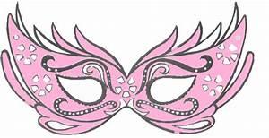 Light Pink Masquerade Mask Clip Art at Clker.com - vector ...