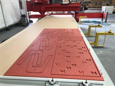 coloured  mdf scandinavian profiles machining fabricating building materials