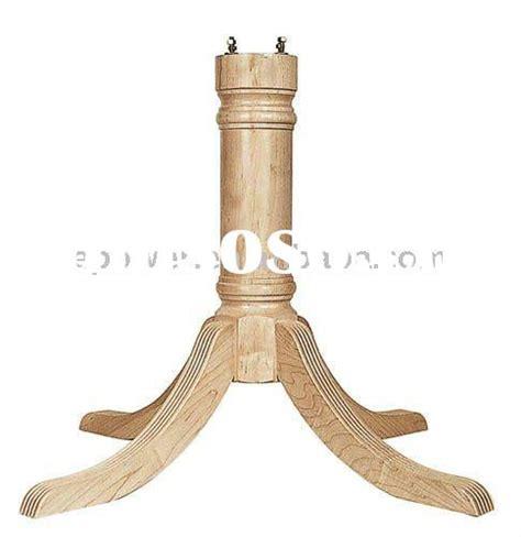 wood pedestal table base kits wood pedestal table base kits images