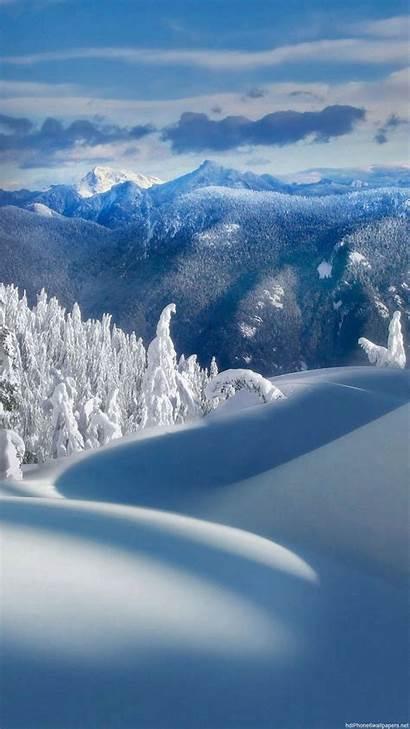 Snow Iphone 1080p Wallpapers Plus Backgrounds Landscape